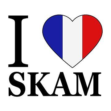 I love Skam France by elisc
