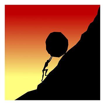 Sisyphus Rocks by Kowulz