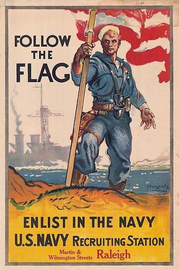 Quot Ww1 Propaganda Poster U S Navy Recruitment Quot Poster By