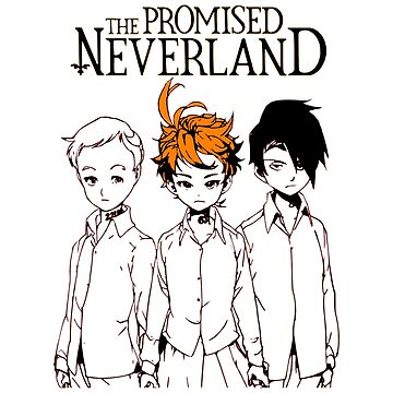 The Promised Neverland Emma Norman and Ray by OtakuPapercraft