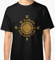 "PC Gamer's Compass - ""Death is Only the End of the Game"" Classic T-Shirt"
