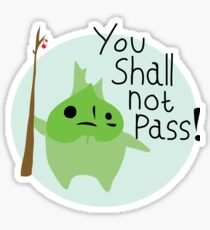 Makar - You Shall Not Pass! Sticker