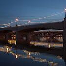 """ Tempe Town Bridge"" by K D Graves Photography"