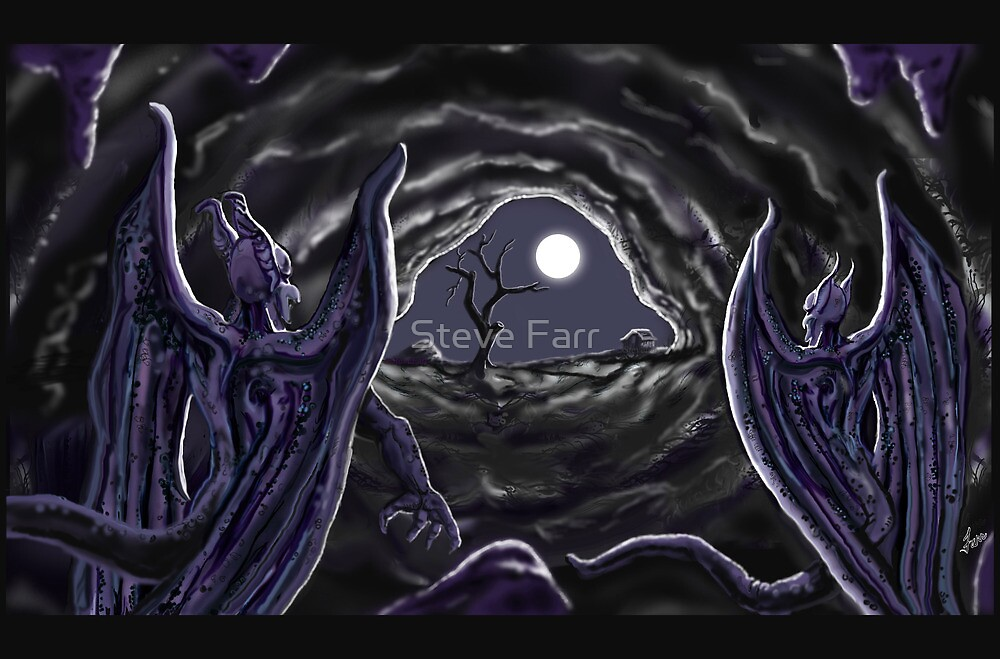 """""""Night Of The Cave Dwellers"""" by Steve Farr"""