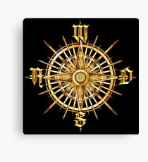 PC Gamer's Compass - Adventurer Canvas Print