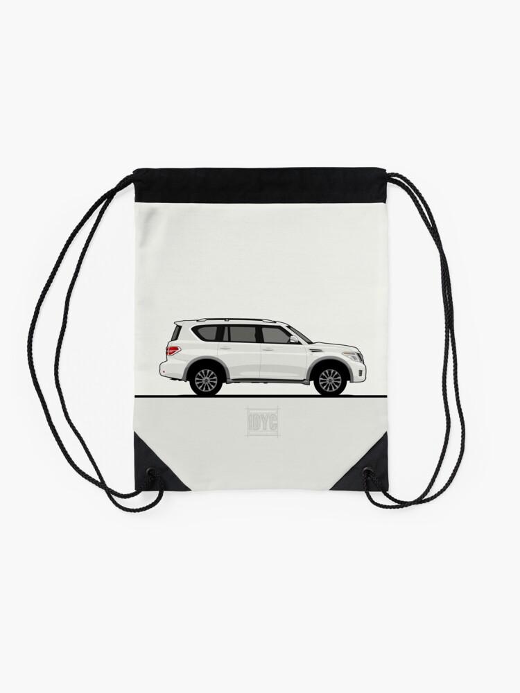 Alternate view of Visit idrewyourcar.com to find hundreds of car profiles! Drawstring Bag