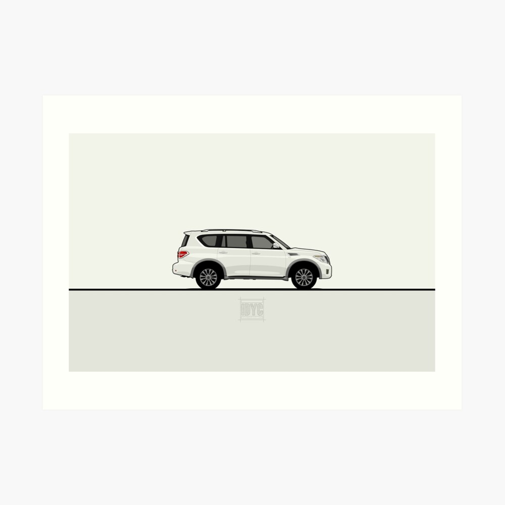 Visit idrewyourcar.com to find hundreds of car profiles! Art Print