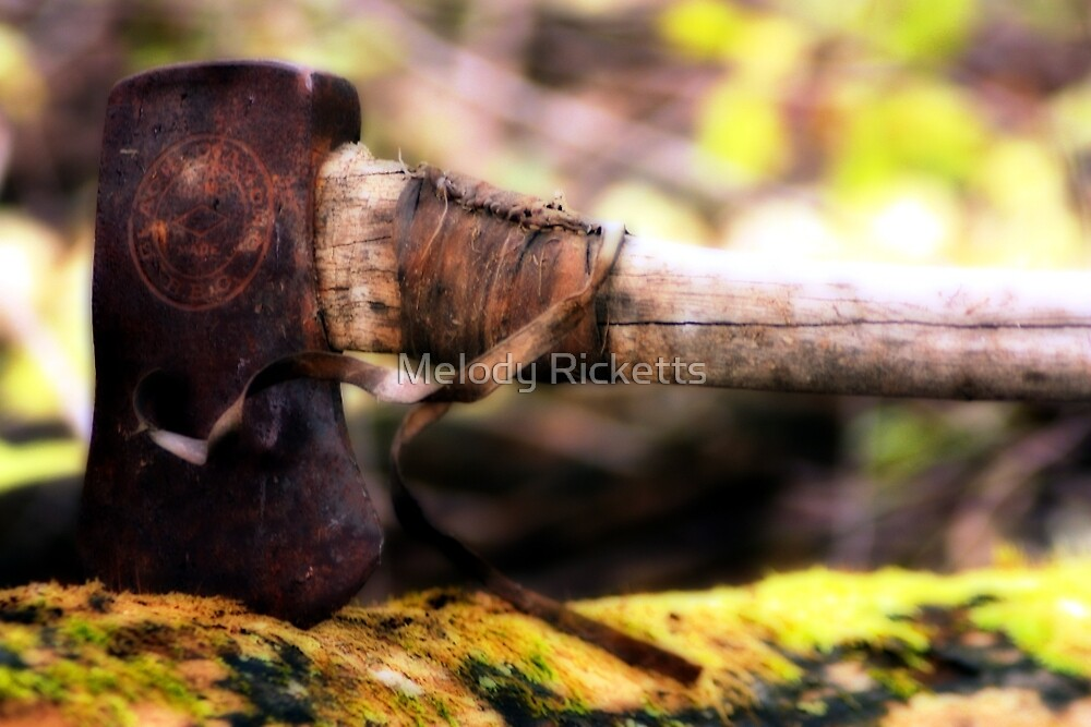 Woodsmen Past by Melody Ricketts