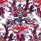 Merlot Pattern von Nalini Biggs