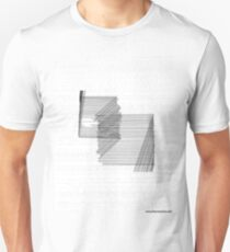 Forenzics - Static and Silence Big White Slim Fit T-Shirt