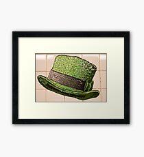 St. Patrick's Day Topper Framed Print