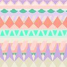 geo pastels by Natalie Perkins