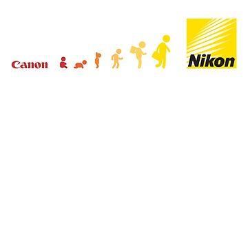 Nikon vs Canon by almaousherji84