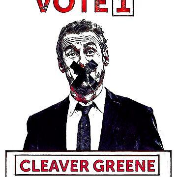 Vote 1 Cleaver Greene by metropol