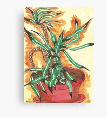 Potted Plant~ Canvas Print