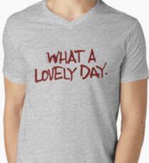 Oh, what a day... what a lovely day! Men's V-Neck T-Shirt