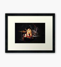 Diana Krall in concert Framed Print