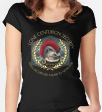 Lone Centurion Security Women's Fitted Scoop T-Shirt