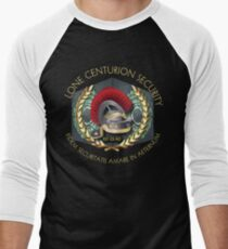 Lone Centurion Security Men's Baseball ¾ T-Shirt