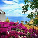 Colors of Positano by Barbara  Brown