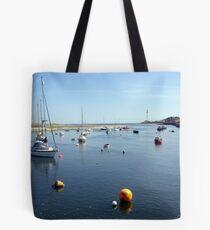 Rhyl Harbour Tote Bag