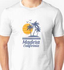 Madera California Shirt State Home City Tourist Travel Souvenir Summer Family Vacation Decal Gift Unisex T-Shirt