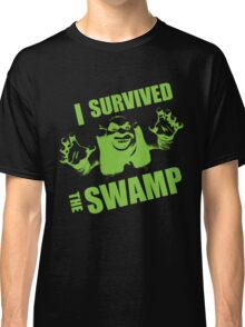I Survived the Swamp - Black Tee Classic T-Shirt