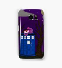 Cheshire of time and space Samsung Galaxy Case/Skin
