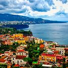 The colors of Amalfi by Julie Teague