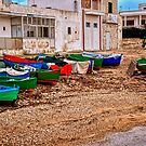 Old fishing town of Bari by Julie Teague