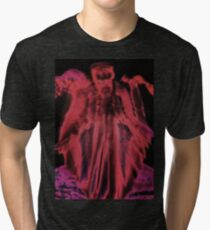 Gas Mask Angel  Tri-blend T-Shirt