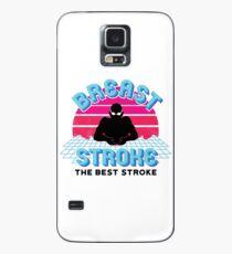Retro Brustschwimmen Fan Retro Swim Team Hülle & Skin für Samsung Galaxy