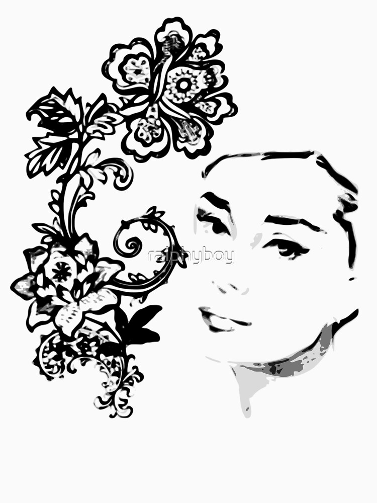 audrey,the english rose by ralphyboy