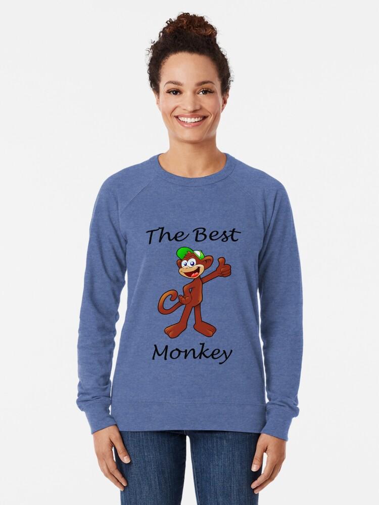 Alternate view of El Mas Mono Lightweight Sweatshirt