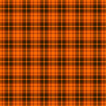 Orange Tartan Plaid Pattern by harrizon