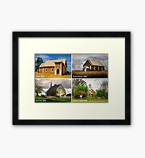 Country Churches NSW Framed Print