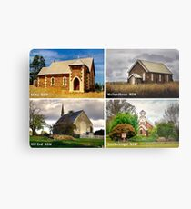 Country Churches NSW Metal Print
