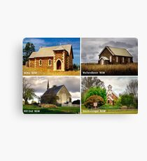 Country Churches NSW Canvas Print