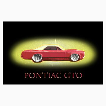 Pontiac GTO by quentin23