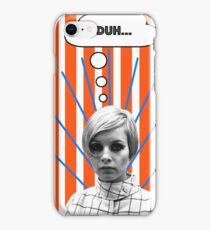 Twiggy is Annoyed iPhone Case/Skin