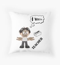 Seré profesor Throw Pillow
