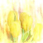 Yellow Tulips by Lynn Bolt