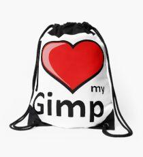 Rude - I Love My Gimp Merchandise Secret Santa Gift Drawstring Bag