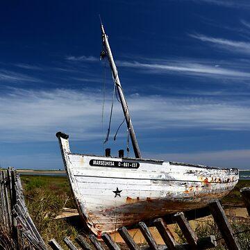 Shipwreck in the Algarve by IrisHeuer