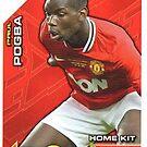 Paul Pogba Rookie Card by bigredfro
