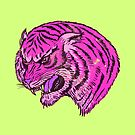Pink Tiger  by Terry  Fan