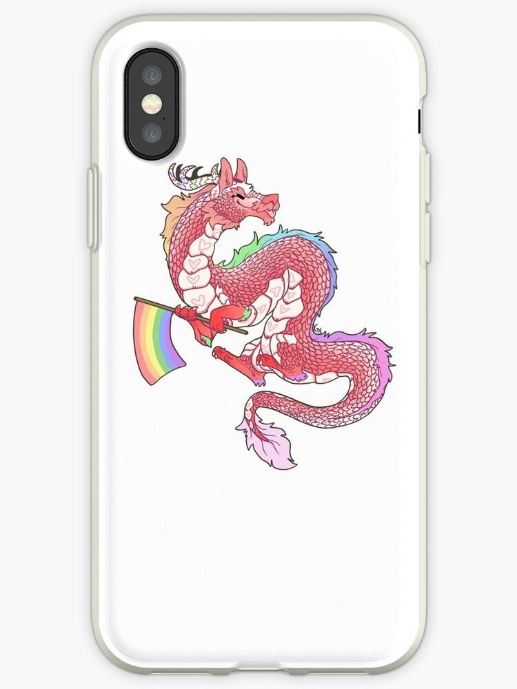«Orgullo Gay del Dragón Oriental - Pastel.» de Kaiodra