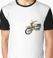 Habicht DDR Moped Grafik T-Shirt
