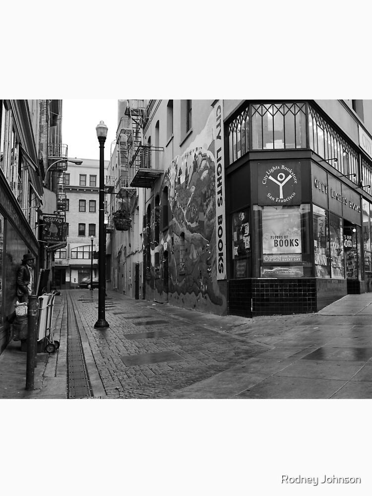 Jack Kerouac Alley by rodneyj46