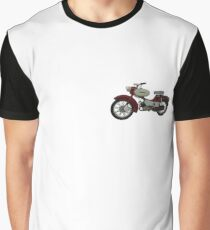 Spatz DDR Moped Grafik T-Shirt